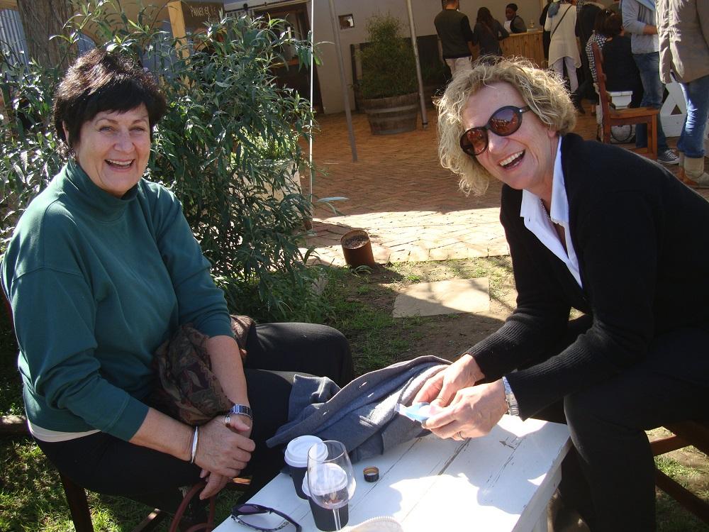 Irna van Zyl en Karin Brynard