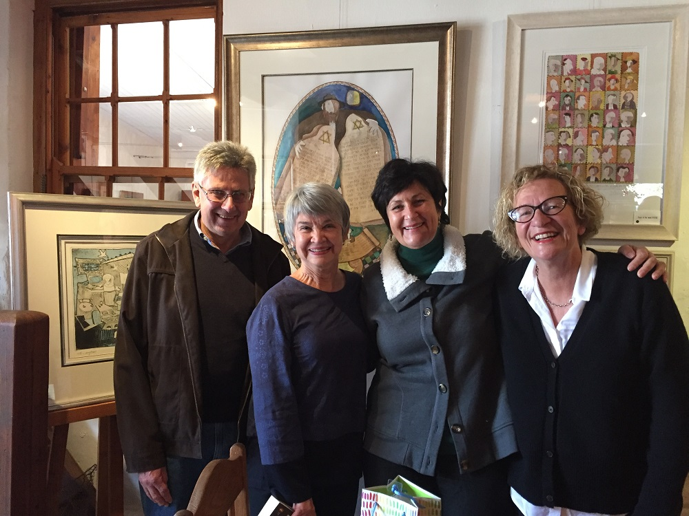 Joan and Douw Kruger, Irna van Zyl and Karin Brynard